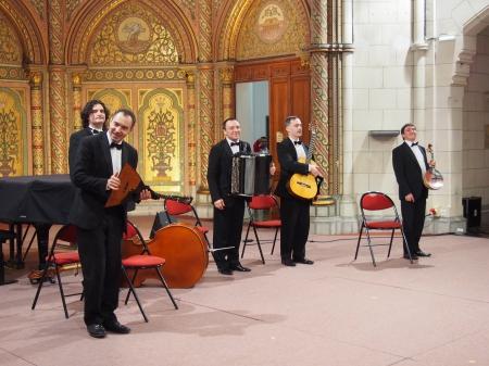 Expromt-Quintet de Saint-Pétersbourg en concert à Pau