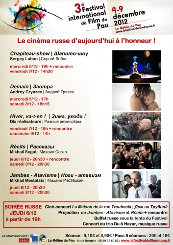cinéma russe, festival